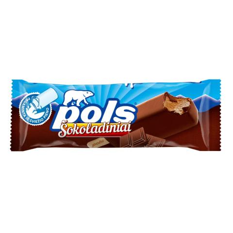 Glaistytas šokoladinis plombyras POLS, 120 ml