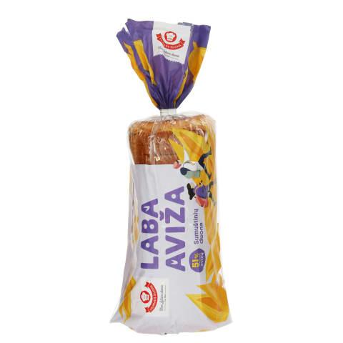 Sumuštinių duona LABA AVIŽA, 550g