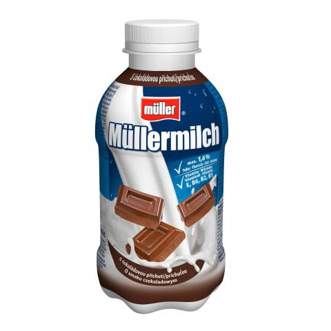 Dzēriens Mullermilch piena, šokolādes 1,6% 40