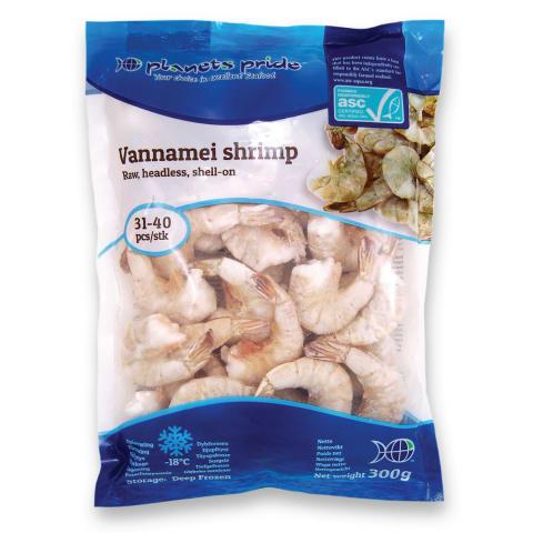 Šald. blyšk. krevetės PLANETS PRIDE,300g