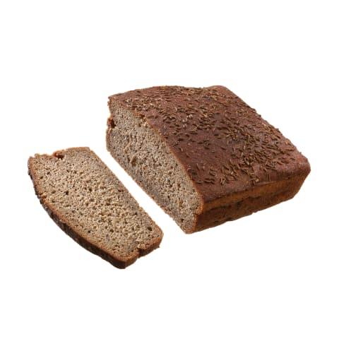 Bemielė viso grūdo duona, 1kg