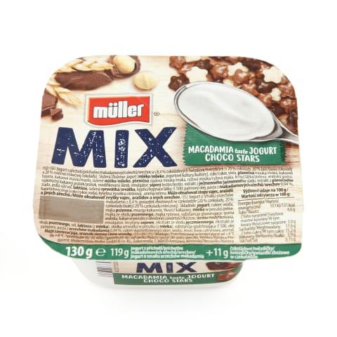 Jogurts Müller Mix makadāmijas šok.4,6% 130g