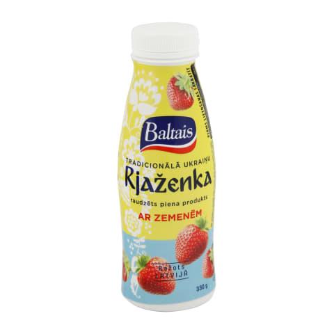 Raudzēts piena produkts Rjaženka ar zem. 330g