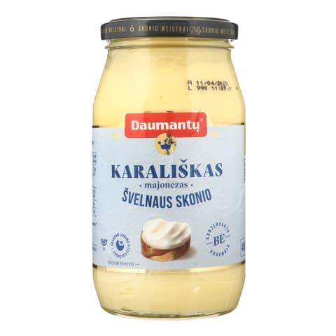 Majonezas DAUMANTŲ KARALIŠKAS, 72%rieb., 400g