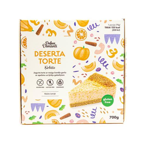 Torte Ķirbītis deserta 700g