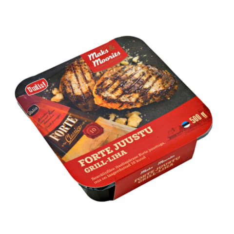 Forte juustu grill-liha M&M 500g