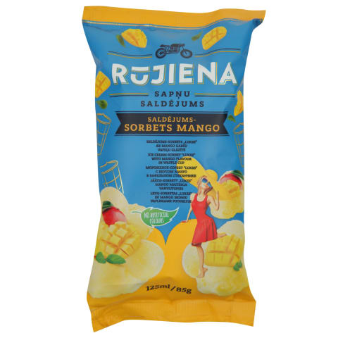 Saldēj.Lukss sorbets mango g.125 ml/85g