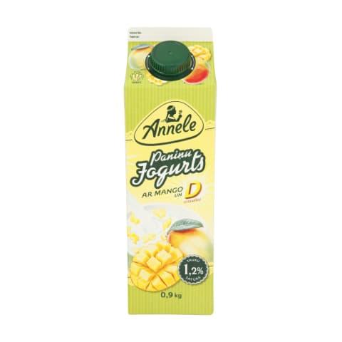 Jogurts Annele paniņu ar mango 900g