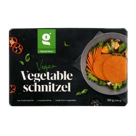 Veg.daržovių šnicelis GOURMET GREEN,160g