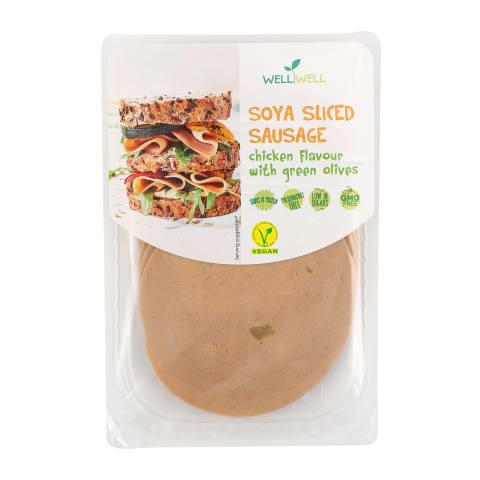 Sojas desa ar zaļ. olīvām sagr. 100g