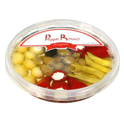 Daržovės įdarytos sūriu ANTIPASTI, 900 g