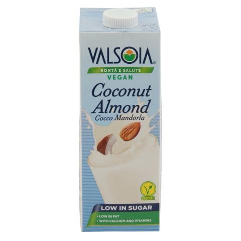 Kokosriekstu-mandeļu dzēriens Valsoia 1l
