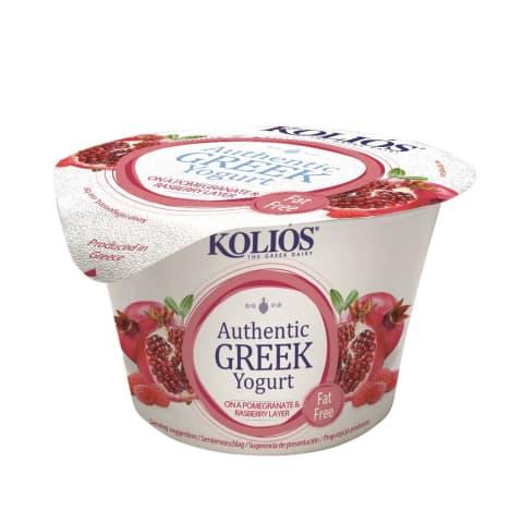Jog. Grieķu aveņu un granātāb. 0% 150g