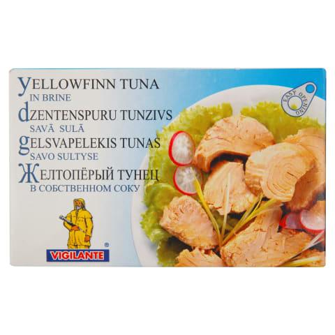 Tuncis dzeltenspuru savā sulā 220/156g