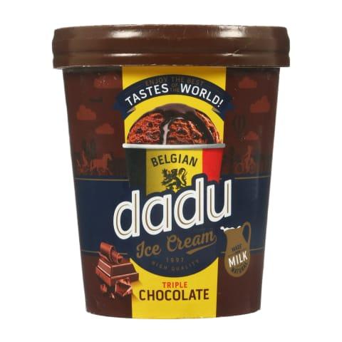 Sald. Dadu ar beļģu šokolādi 400ml/245g