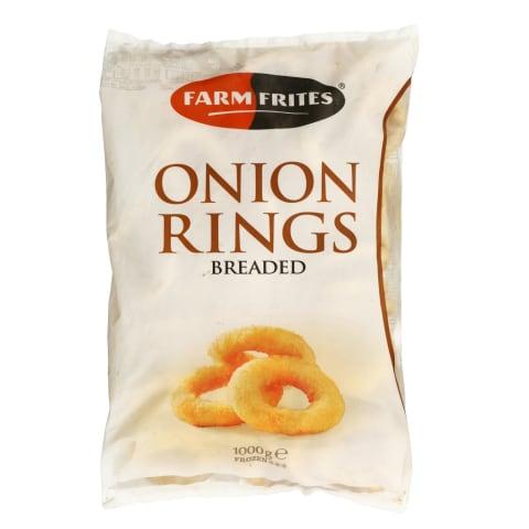 Sīpolu gredzeni Farm Frites saldēti 1kg