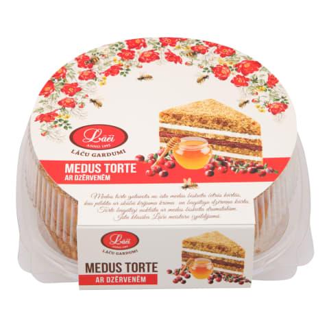 Torte medus ar dzērvenēm 500g