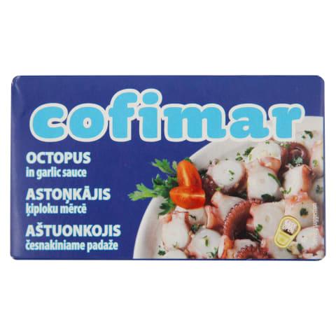 Astoņkājis Cofimar ķiploku mērcē 120g/72g