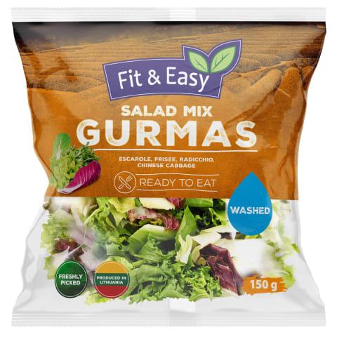 Plautų salotų mišinys GURMASS, 150 g