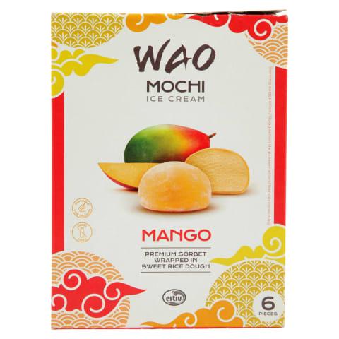 Saldējums Mochi mango 6x35g 216ml/210g