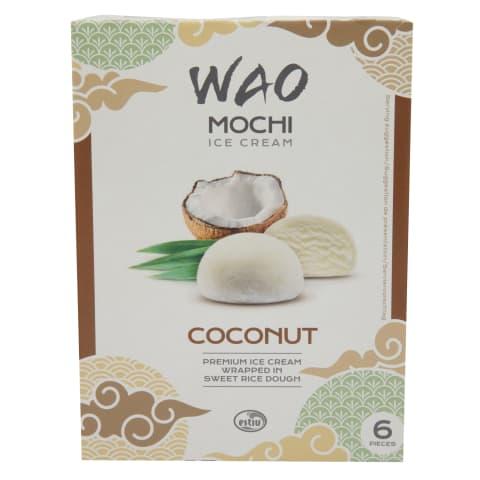 Saldējums Mochi kokosriekstu 6x35g 216ml/210g