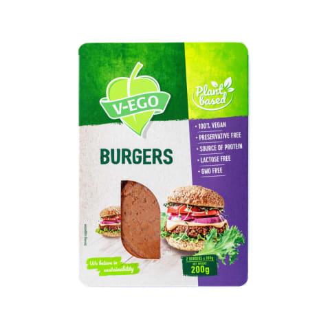 Burgeri vegāniem 200g