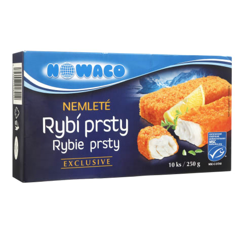 Apk. šald. žuvų filė pirštel. NOWACO,57%,250g