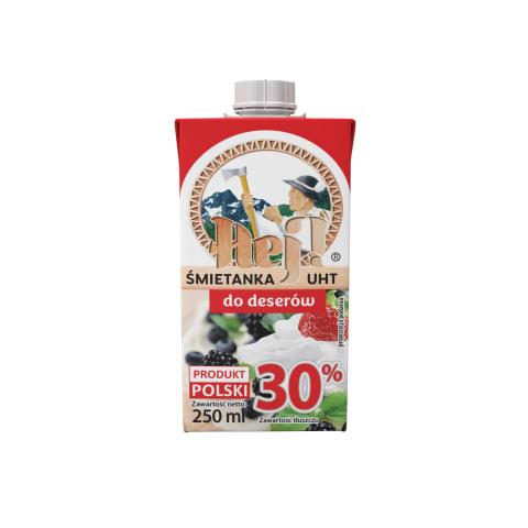 Grietinėlė HEJ! UAT, 30 % rieb., 250 ml