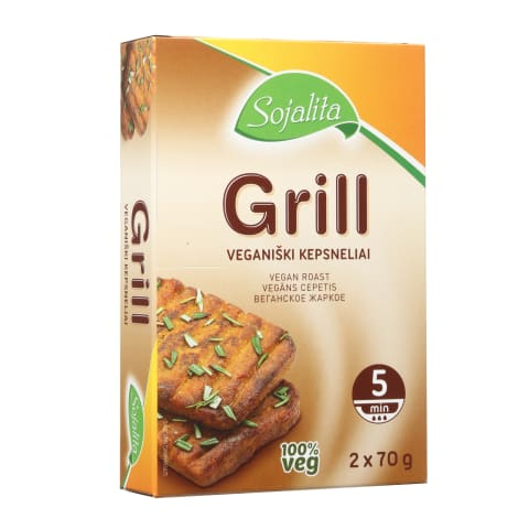 Grill veganiški kepsneliai, 140 g