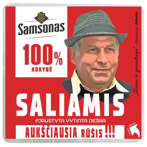 Vytinta saliamio dešra SAMSONO, a.r., 200 g