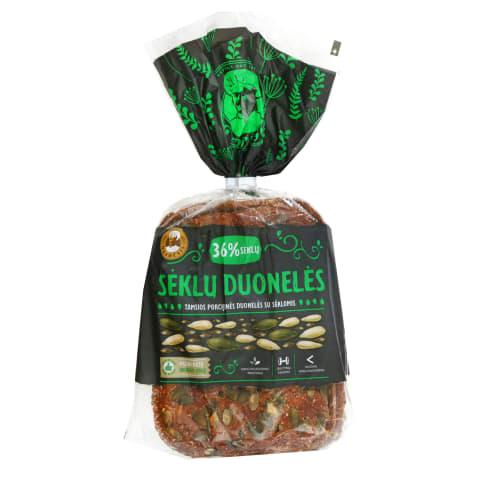 SĖKLŲ tamsios porcijinės duonelės, 300 g