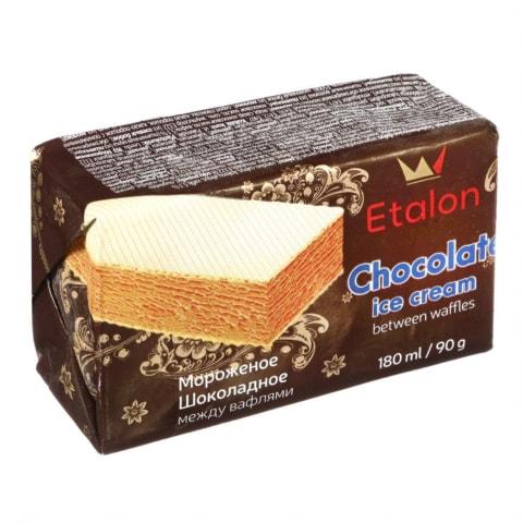 Šokoladiniai valgomieji ledai ETALON, 180 ml