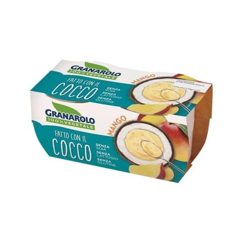 Kookosedessert mango Granarolo 2x125g