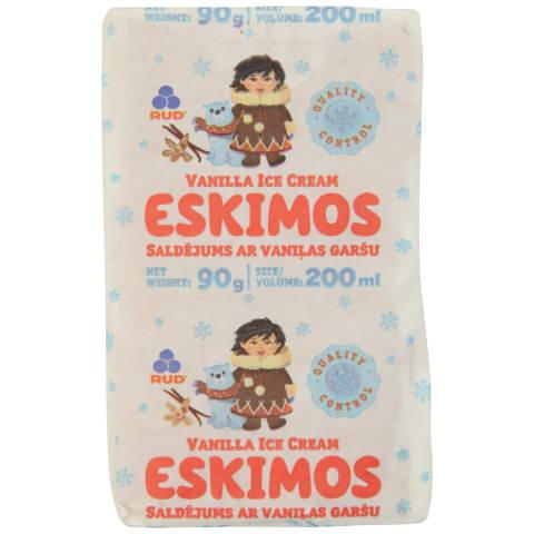 Saldējums Eskimos vaniļas sendvičs 200ml/90g