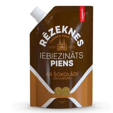 Iebiez. piens Rēzeknes leģenda ar šokol. 250g