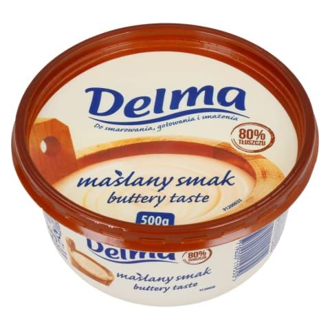 Margariin võimaitseline Delma 80% 500g