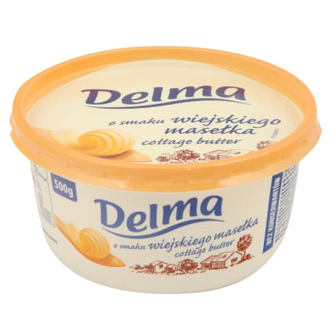 Sviesto skonio margarinas DELMA, 39 %, 500 g
