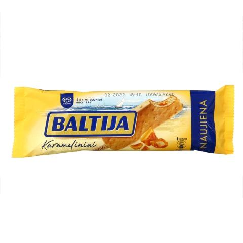 Karamel. skon. griet. ledai BALTIJA, 120 ml