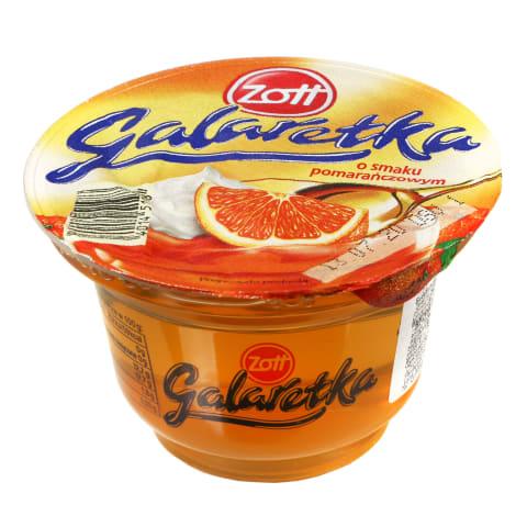 Apelsinų skonio želė ZOTT GALARETKA, 175 g
