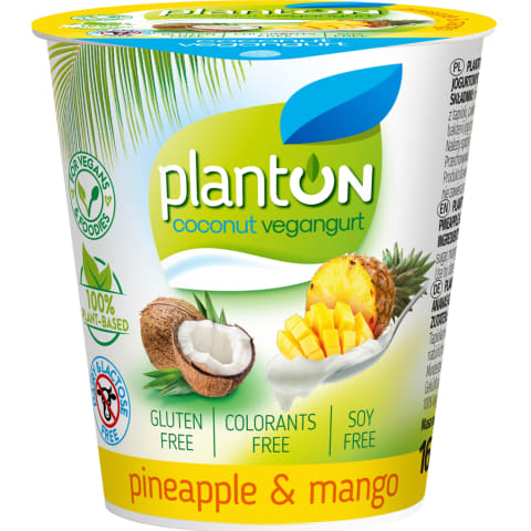 Veg. kokosų gam.anan.ir mang.sk. PLANTON,160g