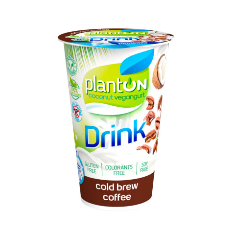 Veg. gėrimas šaltos kavos sk. PLANTON, 200 g