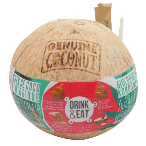 Kokosrieksts ekoloģisks gab.