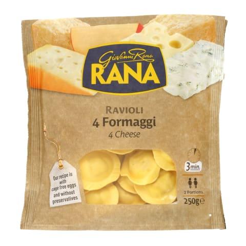Ravioliai su sūrio įdaru RANA, 250 g