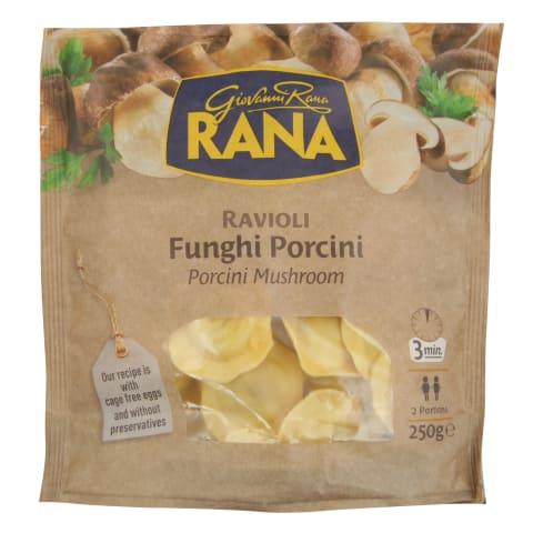 Ravioliai su sūriu ir pjaus.grybais RANA,250g