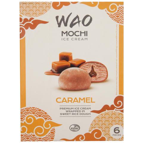Saldējums Mochi karameļu 6x36ml/6x35g