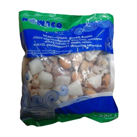 Šald. jūros gėrybių rinkinys NOWACO, 320 g
