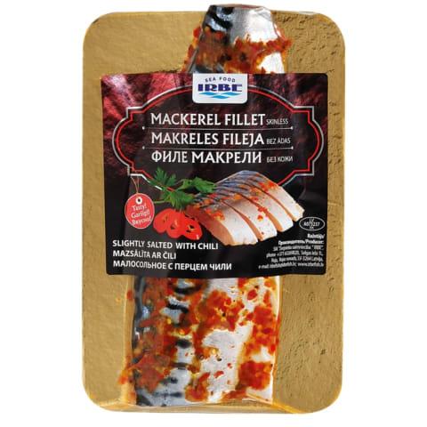 Makreles fil. Irbe ar čili pipariem mazs.160g