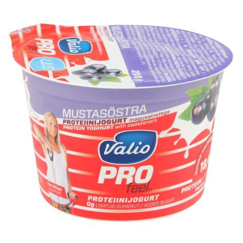 Jogurts Valio profeel proteīna upeņu 200g