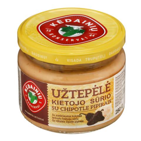 Kiet. sūrio užtepėlė su CHIPOTLE KKF, 280 g