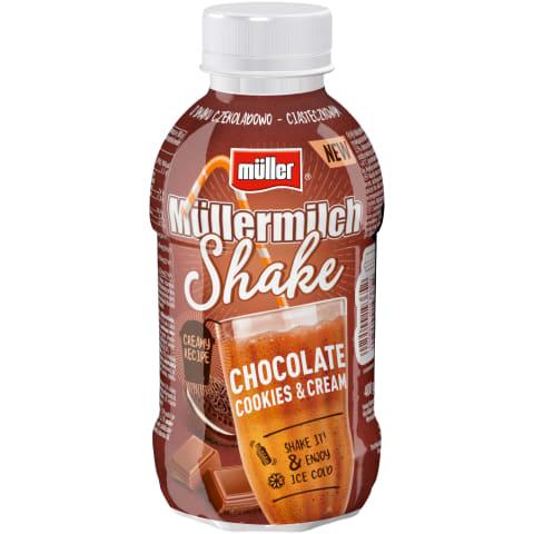 Piena dzēriens Mullermilch shake ar šok. 400g